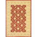 nuLOOM Traditional Ziegler Keshan Red Rug (7'10 x 11')