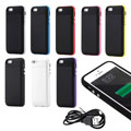 Gearonic External Rechargeable 2500mAh Backup Battery Case for iPhone 5 5S