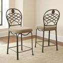 Winsor Dark Bronze Counter-height Chairs (Set of 2)