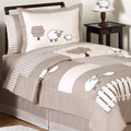 Sweet Jojo Designs Unisex 'Little Lamb' 4-piece Twin Comforter Set