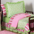 Sweet Jojo Designs Girl 5-piece Olivia Boutique Toddler Comforter Set