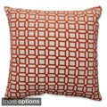 Kelly Mandarin Throw Pillow