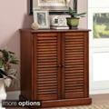 Furniture of America Delza 5-shelf Shoe Cabinet