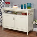 Southport Antique White Beadboard Buffet