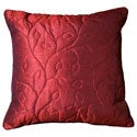Hildegarde 18-inch Grape Scroll Decorative Throw Pillow (Set of 2)