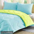 Intelligent Design Penny Reversible Down Alternative 3-piece Comforter Set