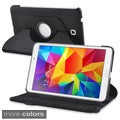 BasAcc 360 Swivel Rotating Stand Leather Case Cover for Samsung Galaxy Tab 4 8.0