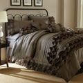 Anastacia Platinum 7-piece Embellished Comforter Set