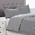 Keystone Cotton 300 Thread Count 3-piece Duvet Cover Set