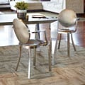 InnerSpace Brushed Stainless Steel Dining Chair (Set of 2)