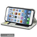 INSTEN Stand Wallet Photo Display Leather Phone Case Cover for Apple iPhone 6 4.7-inch