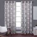 Kochi Linen Blend Grommet-top 84-inch Curtain Panel Pair