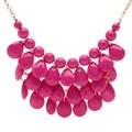 Alexa Starr Teardrop Shaky Gemstone Necklace