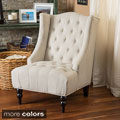 Christopher Knight Home Toddman Fabric High Back Club Chair