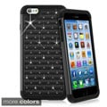 INSTEN Exclusive Bling Diamond Hybrid Phone Cover Case For Apple iPhone 6 Plus