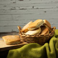 Jamaican Style Coco Bread (Pack of 12)