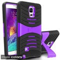 INSTEN Hybrid Phone Case Cover with Stand For Samsung Galaxy Note 4 SM-N9100
