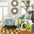 TRIBECCA HOME Sophie Tufted Queen Upholstered Bed