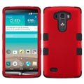 INSTEN Tuff Dual Layer Hybrid Rubberized Hard PC Silicone Phone Case Cover For LG G3