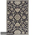 Hand-Tufted Wigton Floral Wool Rug (5' x 8')
