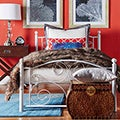 TRIBECCA HOME Adrian Twin Metal Platform Bed