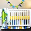 Pam Grace Creations Simply Bold 4-Piece Crib Bedding Set
