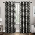 ATI Home Neptune Grommet Top Curtain 84 - 96-inch Length Panel Pair