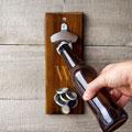Personalized Rustic Wall Mount Bottle Opener