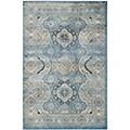 Safavieh Persian Garden Vintage Light Blue/ Ivory Viscose Rug (6'7 x 9'2)
