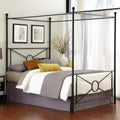 Azuree Queen Canopy Bed