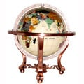Ivory Jasper Ocean 6-in. Gemstone Globe