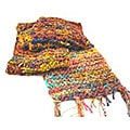 Himalayan Handmade Silk Scarf, India (Pack of 2)