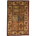 Handmade Classic Bakhtieri Multicolored Wool Rug (4&#39; x 6&#39;)