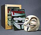 V for Vendetta: Book and Mask Set