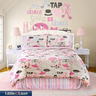 Dance Princess 4-piece Full-size Comforter Set