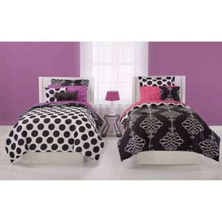 Jackie Mcfee Opposites Attract 7-piece Bed in a Bag with Sheet Set