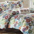 Mizone Asha 4-piece Printed Paisley Polyester Microfiber Comforter Set