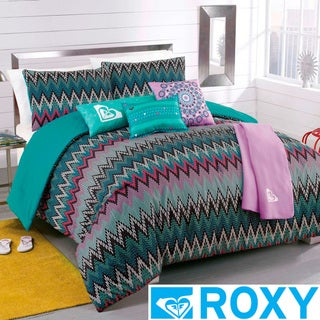 Roxy Tribal Dash 5-piece Comforter Set with Body Pillow and Throw