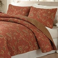 Terra Rose 3-Piece Quilt Set