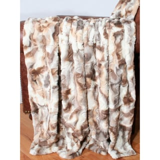 Arizona Faux Fur 50x60-inch Throw