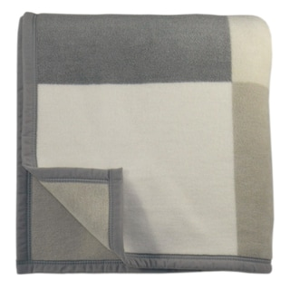 Bocasa Big Check Woven Throw Blanket