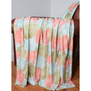 Fan Coral Microplush Throw