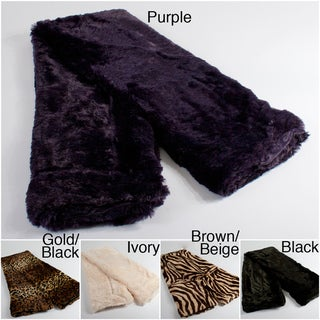 Faux Fur 50x60 Throw