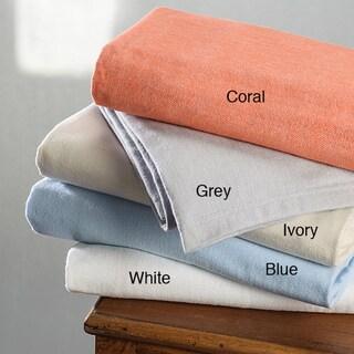 German Herringbone 100 Percent Cotton Throw