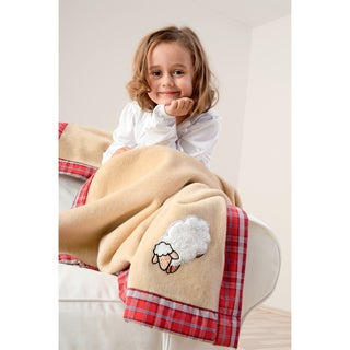 Solare Kids Cuddle Sheep Blanket