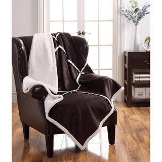 Lisa Sherpa Reversible Throw