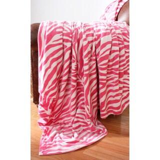 Zebra Microplush 44 x 60 Throw