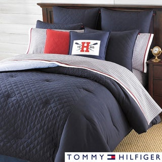 Tommy Hilfiger Prep Midnight Comforter (Euro Shams Sold Separately)