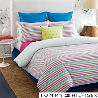 Tommy Hilfiger Pryia Stripe 3-piece Duvet Cover Set (Euro Shams Sold Separately)