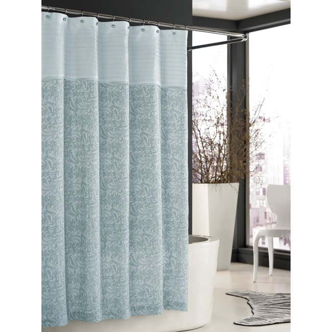 Trump Home Bedminster Scroll Collection Surf Spray Shower Curtain